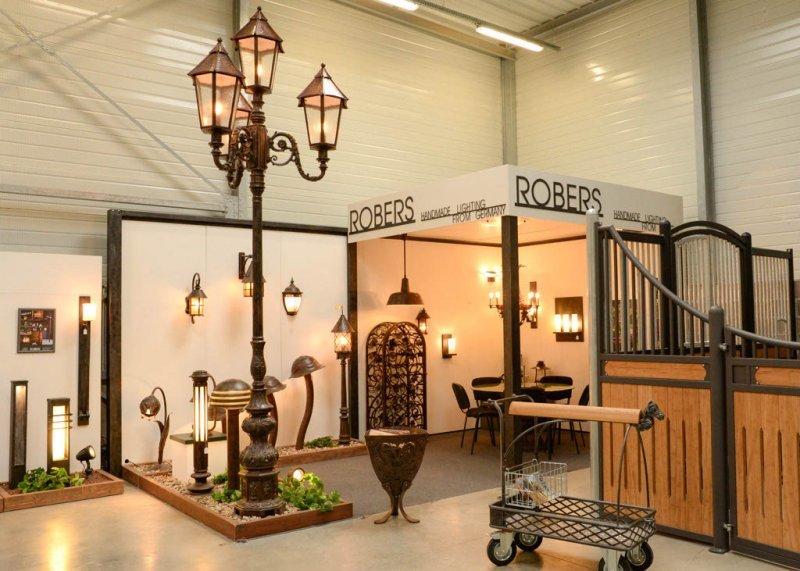 exposition luminaires haut de gamme Robers