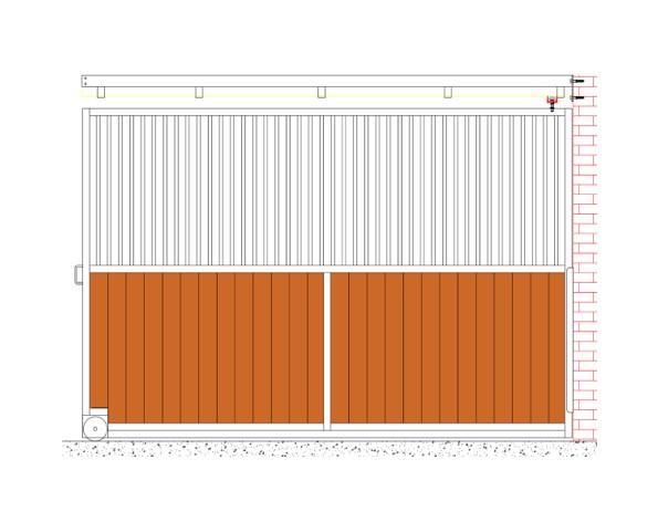 kit de coulissement pour séparation box